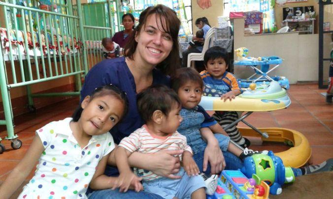 Erika, voluntaria en Guatemala