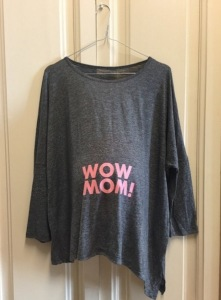 Camiseta Wow Mom!