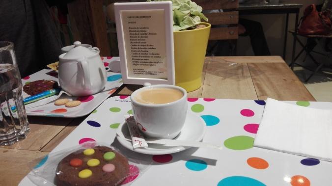 Galleta y café