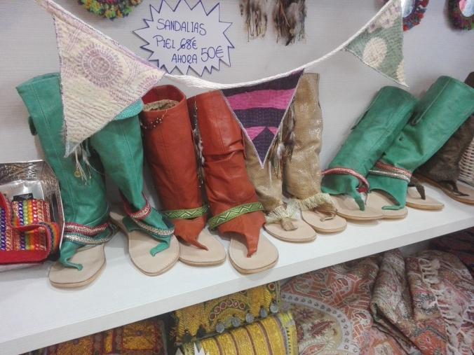 Botas tienda Made in Tarifa