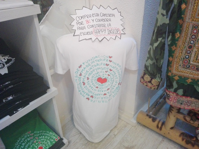 Camiseta solidaria Made in Tarifa
