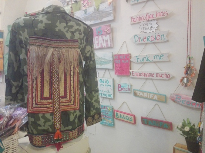 Chaqueta militar made in Tarifa