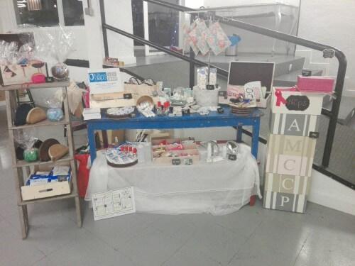 Mesa productos Toallitas Näps