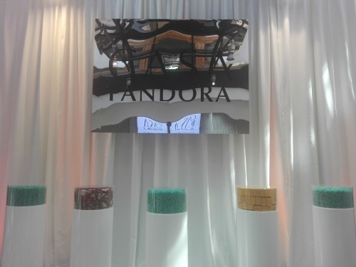 Cartel Pandora entrada